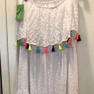 Lilly Pulitzer NWT Maxi Dress w/colorful tassel